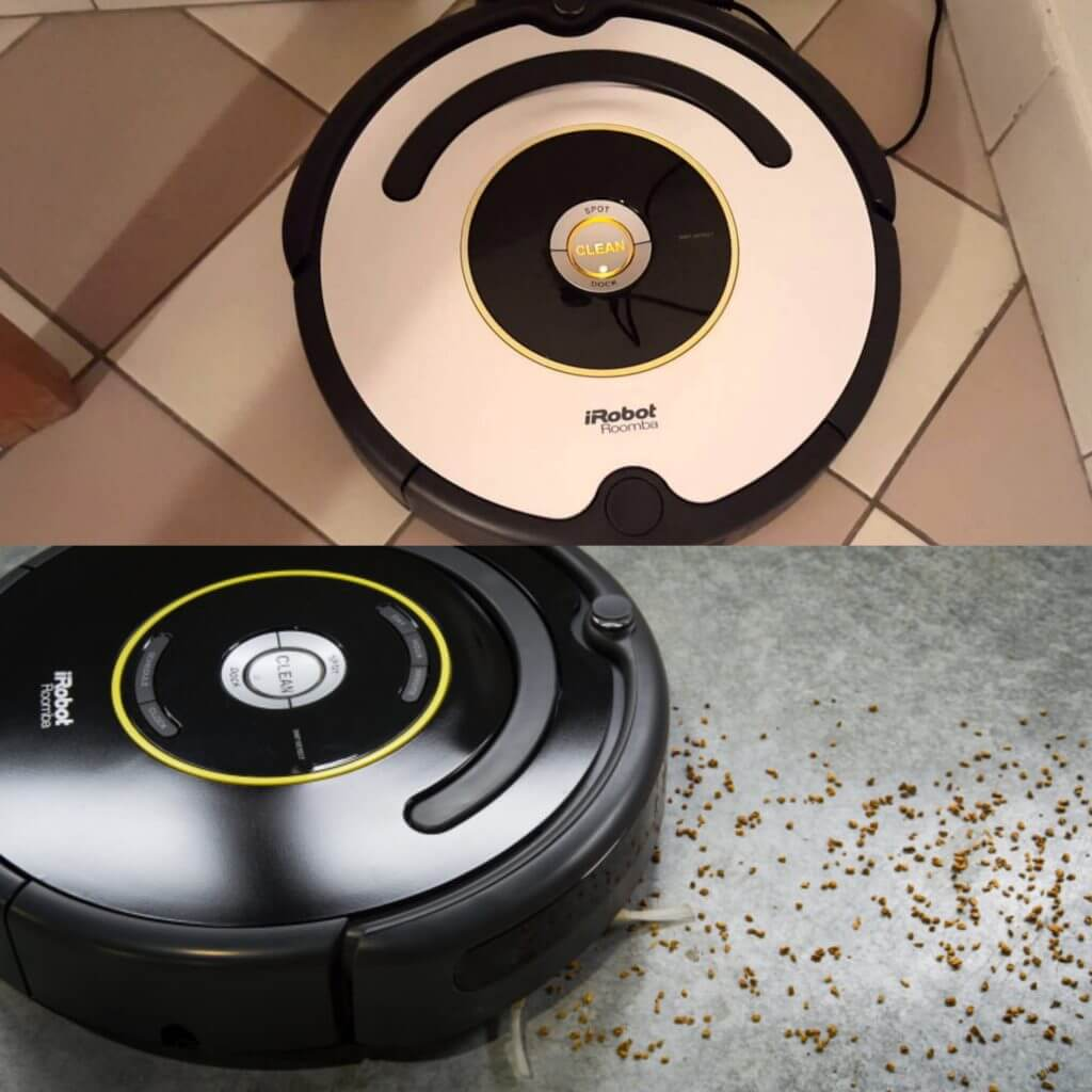 Comparison between Roomba 620 vs 650