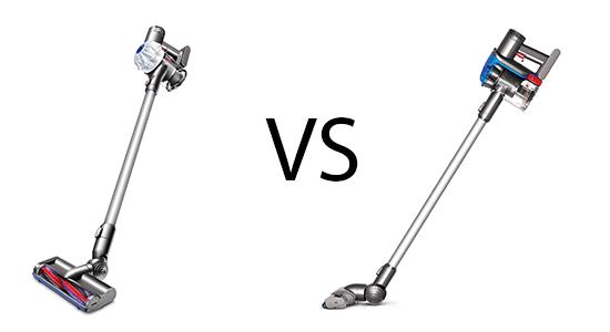 Shark Vacuum Models >> Dyson DC35 vs V6 Comparison And Review | Best Vacuum Review