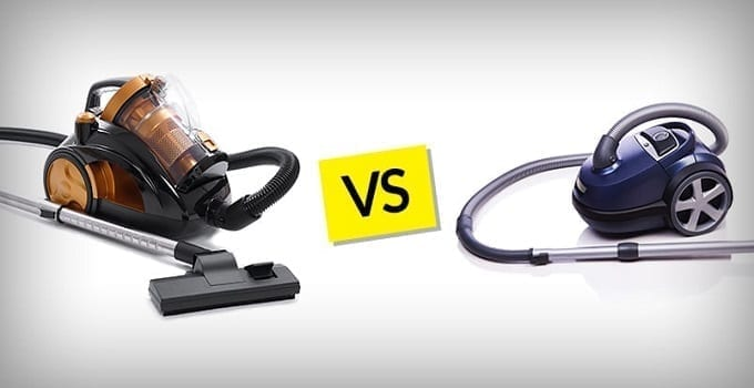 Bagless vs Bagged vacuum cleaners