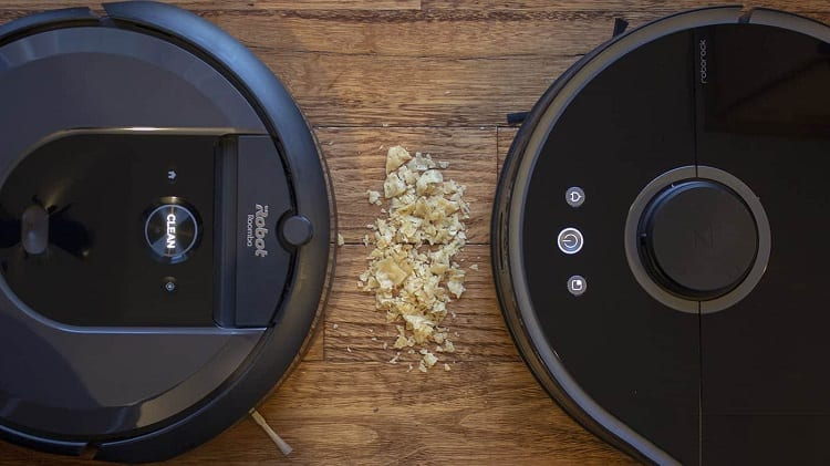 Two Different Robot Vacuums