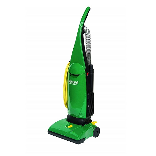 BISSELL BigGreen Commercial PowerForce Bagged Lightweight, Upright, Industrial, Vacuum Cleaner Review