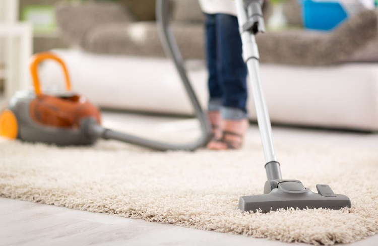carpet cleaning every day
